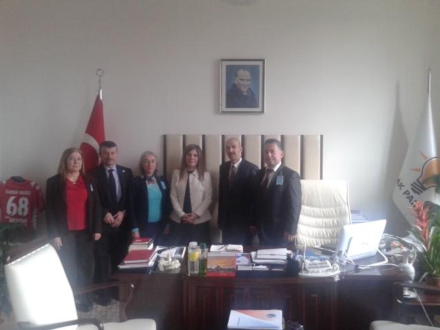 Akparti Grup Başkanvekili İlknur İNCEÖZ'e ziyaret