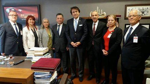 TBMM Plan ve Bütçe Komisyonu Üyesi Sayın İbrahim Aydemir'i ziyaret