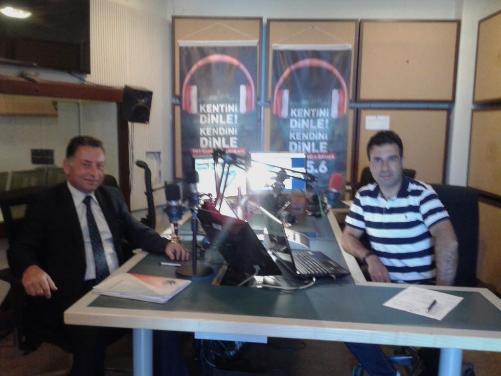 Şube Müdürlerinin Sorunları TRT Kent Radyo Ankara'da