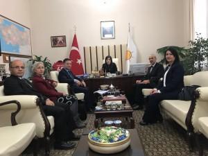 AKPARTİ Grup Başkan Vekili İlknur İNCEÖZ'e ziyaret