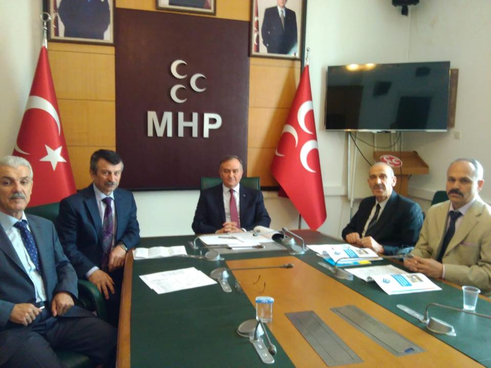 MHP Grup Başkanvekili Sayın Erkan AKÇAY'a ziyaret