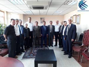 Yönetim Kurulumuzun Vakıflar Genel Müdürlüğü Meslektaşlarını ziyareti