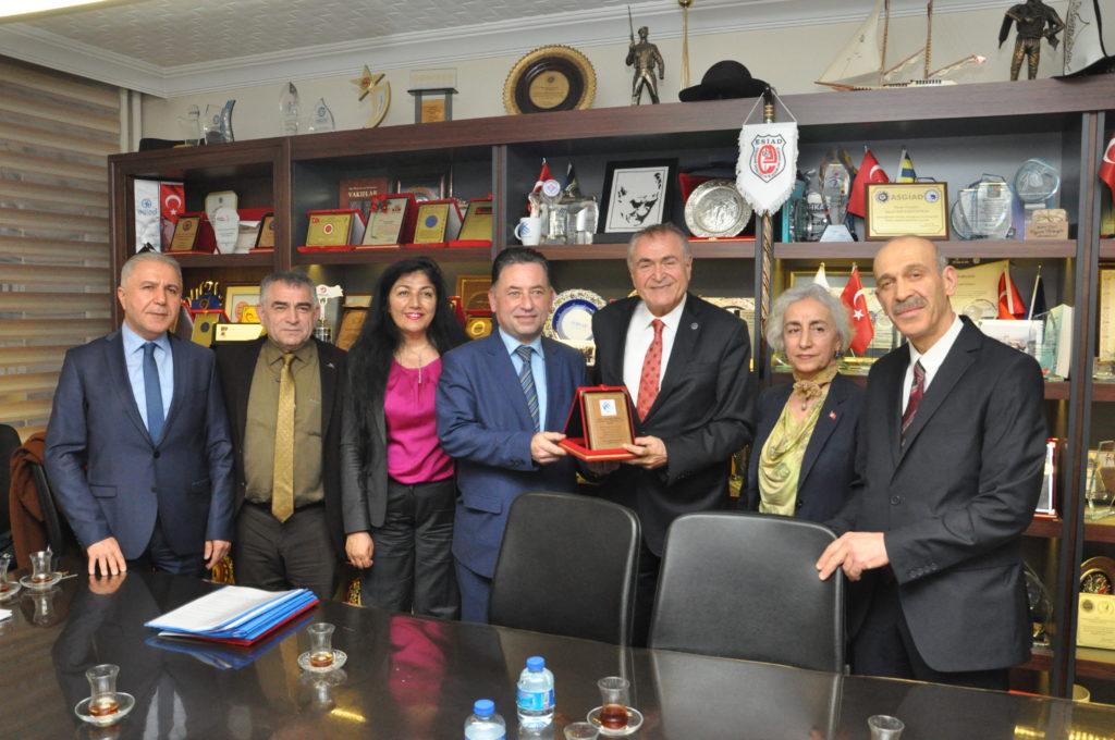 TÜSİAV(Türk Sanayici ve İşadamları Vakfı)'ı ziyaret