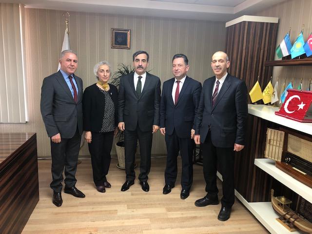 Türkiye Kamu-Sen Genel Başkanı Önder Kahveci'ye Ziyaret