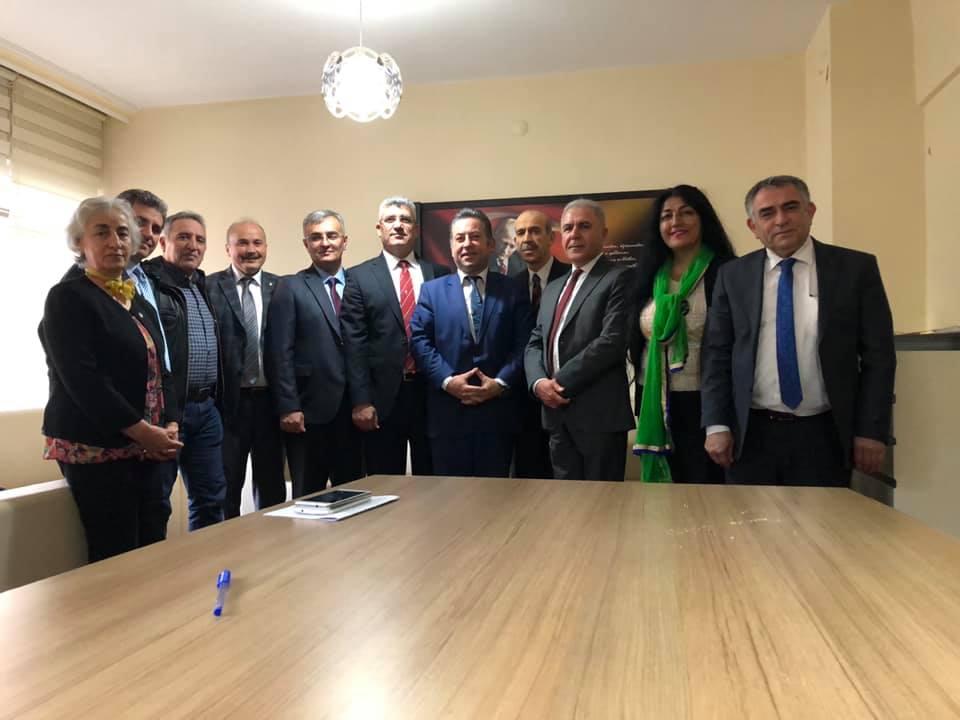 Milli Savunma Bakanlığı Sivil Şube Müdürlerinden Derneğimize Ziyaret
