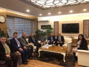 Devlet Personel Başkanı Sayın Enes Polat'a ziyaret