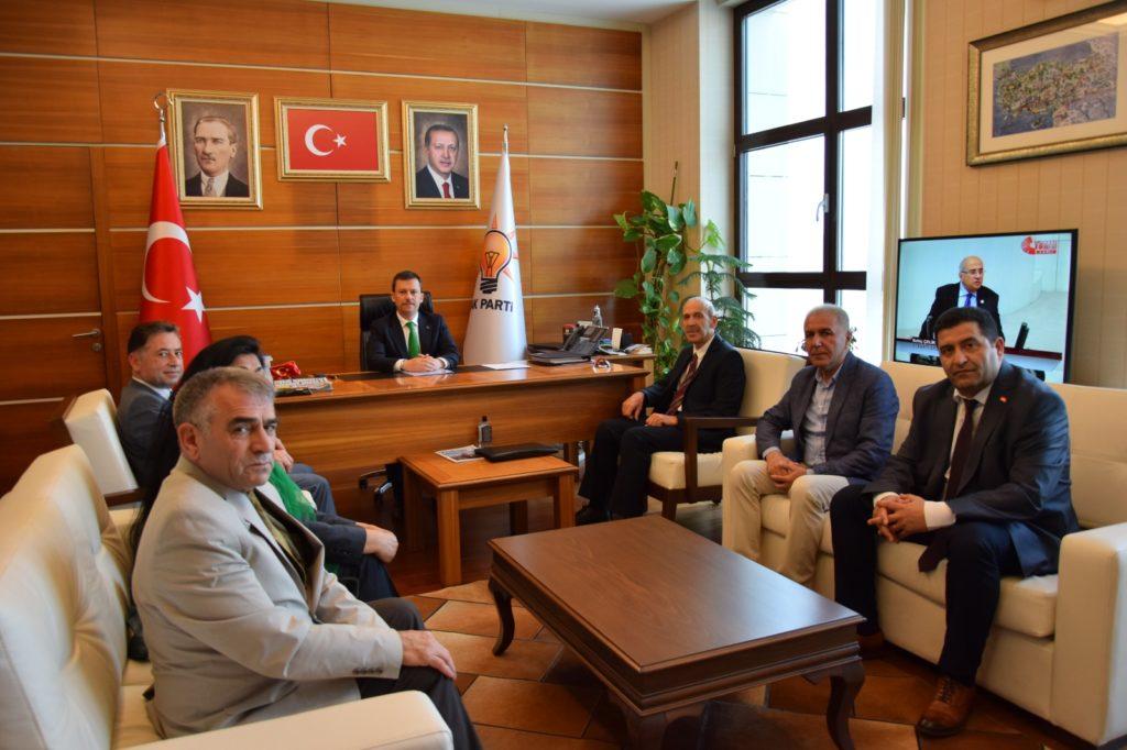 Akparti Genel Sekreteri Sayın Fatih Şahin'e ziyaret