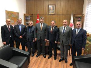 Milli Savunma Bakanlığı Personel Genel Müdürü Sayın Bilal Durdalı'ya ziyaret