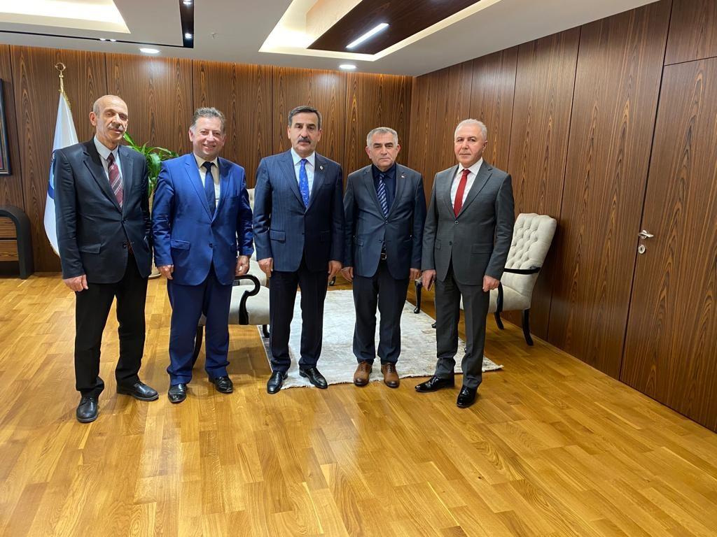 Türkiye KAMUSEN Genel Başkanı Sayın Önder KAHVECİ'YE ziyaret