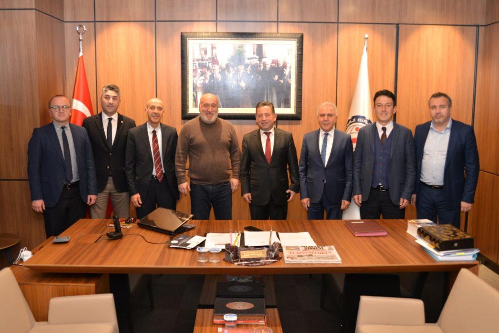 Memur-Sen Genel Başkan Yardımcısı Sayın Hacı Bayram Tonbul'a ziyaret