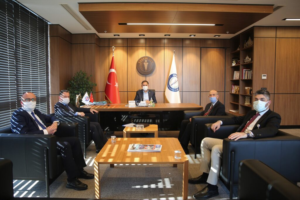 Memur-Sen Genel Sekreteri Sayın Semih Durmuş'a Ziyaret